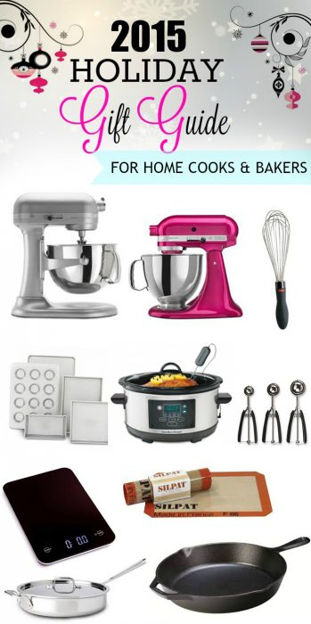 2015 Holiday Gift Guide for the Home Cook and Baker