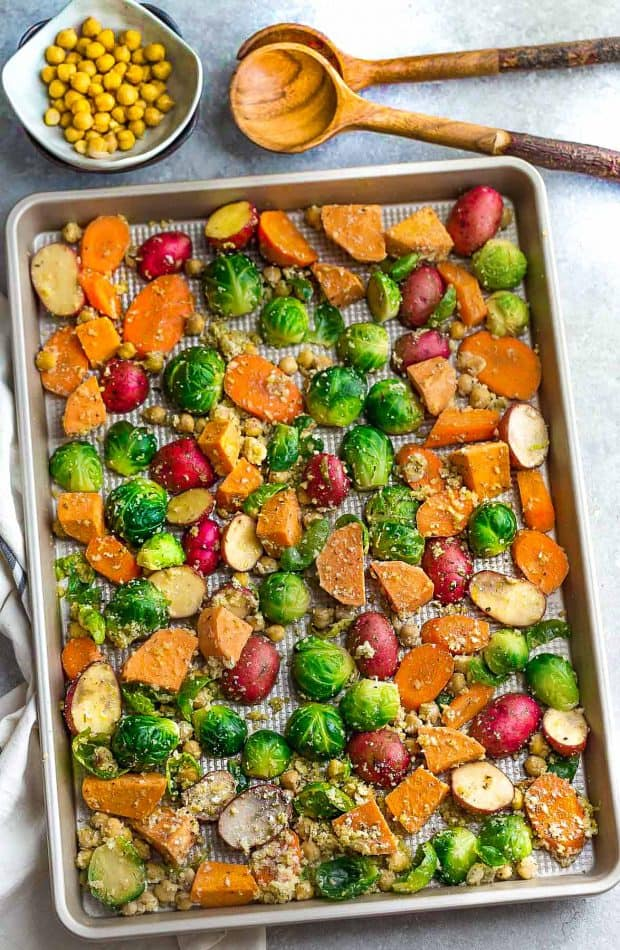 One Pan Roasted Harvest Vegetables Video Best Recipe Picks