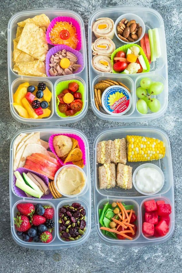 8 Healthy And Easy School Lunches (Healthy & Kid-Friendly